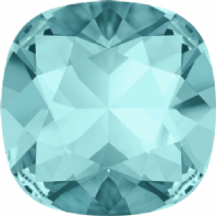 Swarovski 4470 Square Fancy stone 10mm Aquamarine